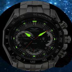 Original GUANQIN Men Quartz Watch Luminous Famous Brand Men Business Watch Waterproof Watches Clock Stainless Steel Wristwatches WOW  #shop #beauty #Woman's fashion #Products #Watch