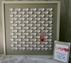Wedding guest book alternative. Large size 3D by PrettyProposal