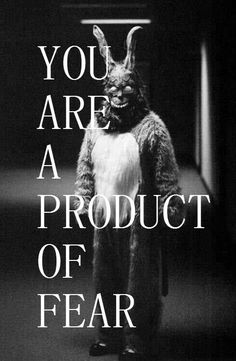 """Reaction Paper: Movie Flick: Donnie Darko Donnie: Why are you wearing that stupid bunny suit? Frank: Why are you wearing that stupid man suit? Gretchen: """"Donnie Darko."""" What the hell kind of name …"""