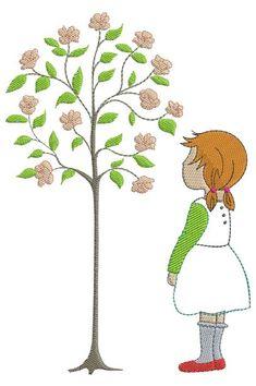 Ein wunderschönes Stickmotiv für alle Rosenliebhaber.