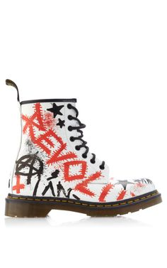 M'O Exclusive: Dr Martens Graffiti'd by Klughaus by Dr. Martens - Moda Operandi