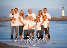 Professional Photography Family Beach Ideas | Family Beach Photography | Family Picture Ideas