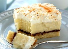 coconut cream shortbread bars - good. Made without the whipped cream topping. Not overly sweet.  Crust needed to be baked for longer