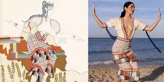 古代ギリシャの女性の装束がテーマの特別展、メルボルンで開催 - ギリシャ-日本