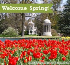 """Welcome Spring! Picture taken at Spring Grove Cemetery in Cincinnati, Ohio - Our Top """"Must Do's"""" for Spring in Cincinnati"""