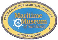 local attraction: visit the Maritime Museum of Sandusky at 125 Meigs St. Catawba Island, Ohio Attractions, Sandusky Ohio, Cedar Point, Window Signs, Maritime Museum, Lake Erie, Beach Signs, Great Lakes
