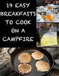 Resultado de imagem para campfire healthy recipes