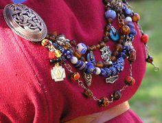 sca  picture by Elin Helsings - Beautiful beads!