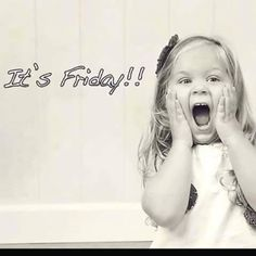 Thank Goodness it is Friday. We made it, Folks! Let's have some fun. Here are a few of my favorite Friday pictures. Good Morning Friday, Friday Weekend, Good Morning Good Night, Good Morning Quotes, Funny Weekend, Funny Morning, Morning Memes, Viernes Friday, Happy Friday Quotes