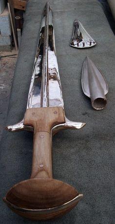 Bronze Age Swords (In My Workshop)