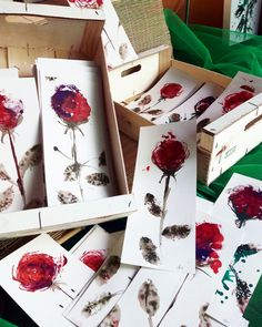 #dibujo #acuarela #rosa #Sant Jordi