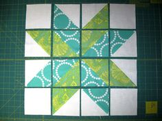 Happy Quilting: Star Surround Quilt-A-Long - Star Centers