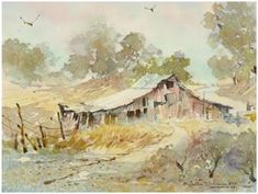 Free Watercolor Landscape Tutorials - Teach yourself how to create beautiful watercolor landscapes, seascapes and street scenes in your home and at your own pace. Learn the techniques that professional artists use by following their free online demonstrations. ( Painting: LaVere Hutchings - Art.com )