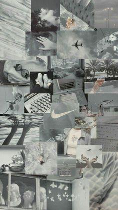Grey Wallpaper Iphone, Iphone Wallpaper Tumblr Aesthetic, Black Aesthetic Wallpaper, Retro Wallpaper, Scenery Wallpaper, Cute Wallpaper Backgrounds, Pretty Wallpapers, Aesthetic Backgrounds, Galaxy Wallpaper