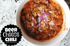 Oh goodness, goodness, goodness…this was delish! I'm always up for making chili on chilly nights....