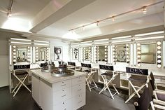 I want a makeup studio, it won't look like this but I want one.