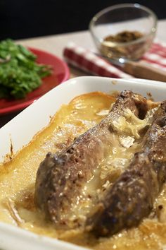Andouillette briarde / Chez Papa Rico Brie, Calories, Steak, Food, Meat, Essen, Steaks, Meals, Yemek