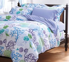 Exceptionally soft #Cuddledown Cotton Jersey Mystere Bedding