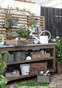 Maison de poupées miniature rustique Crate Cabane de jardin vintage fleur plante bulbe Graines