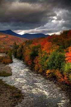 Off the Kancamagus Highway, White Mts, New Hampshire