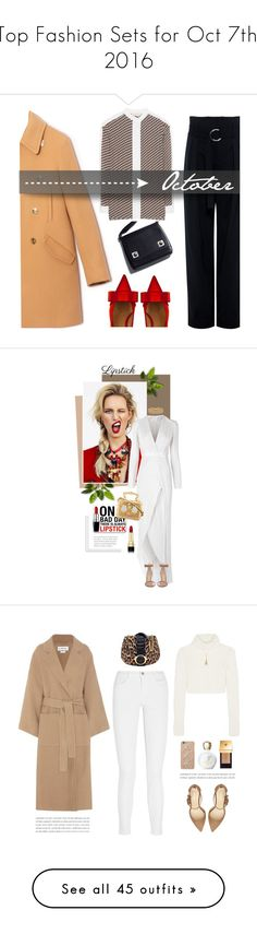 """""""Top Fashion Sets for Oct 7th, 2016"""" by polyvore ❤ liked on Polyvore featuring Marni, Max&Co., Tory Burch, IRO, Galvan, Gianvito Rossi, Dolce&Gabbana, Lele Sadoughi, REDLIP and Loewe"""
