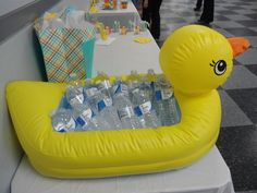 "Photo 8 of 18: Rubber Ducky / Baby Shower/Sip & See ""Jessica's Baby Shower"" 