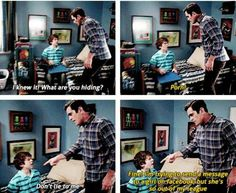 Modern Family | Phil and Luke, love them.