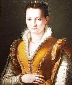 Bianca Capello De Medici by Alessandro Allori, ca 1570-87