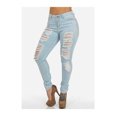 One button high waisted jeans – Global fashion jeans models