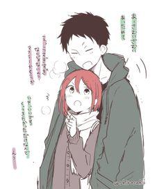 Akagami no Shirayukihime / Snow White with the red hair anime and manga || Obi and Shirayuki <3