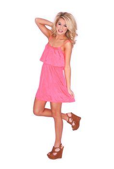 JUST DANCE IN BRIGHT CORAL $ 24.00
