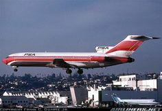 PSA 727 landing at San Diego Linbergh (SAN) Field