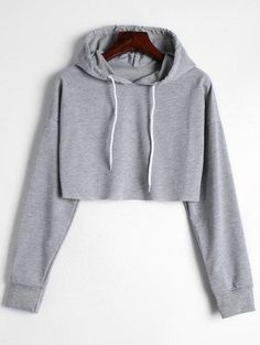 These would be the attractive hoodie attire we want to replicate direct from fashion women. Cropped Hoodie Outfit, Crop Top Hoodie, Sweater Hoodie, Hoodie Sweatshirts, Grey Hoodie, Teen Fashion Outfits, Outfits For Teens, Cute Outfits, Fashion Women
