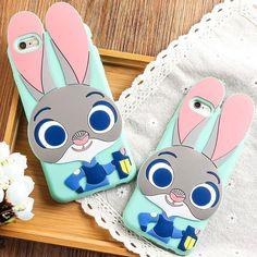 #zootopia bunny phone case kawaii disney iphone 6 case