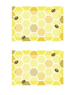 Honeybee Printables by Everyday Art