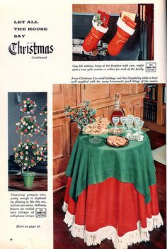 Let all the house say Christmas 1956