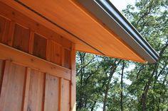 Cedar Board And Batten Siding Soffit Transitional Exterior By Julie Kardatzke Architect