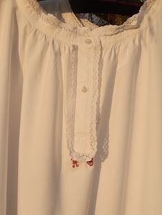 Two French Vintage Night Gowns Dresses Lingerie Day by GoshnPoche, $70.00
