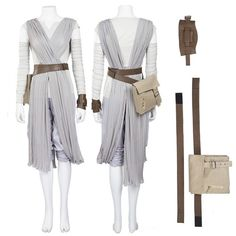 Star Wars The Force Awakens Rey Cosplay Costume Top Level - Ideas of Star Wars Outfits - Star Wars The Force Awakens Rey Cosplay Costume Top Level Rey Cosplay, Cute Cosplay, Cosplay Costumes, Rey Costume Diy, Jedi Costume, Cosplay Ideas, Popular Costumes, Costumes For Women, Disfraz Star Wars