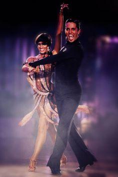 Looks like a samba: Bryan Watson & Carmen Vincelj.