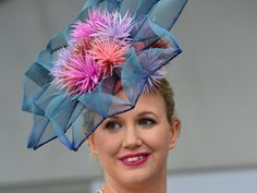Crin and Wire hat from Geelong Cup. #crin #wireframe #judithm