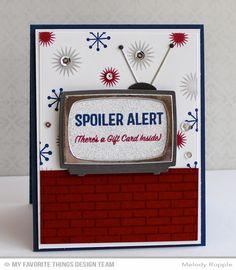 My Favorite Things television die...cute