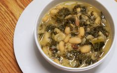 The Greatest Kale and White Bean Soup To Ever Be Created