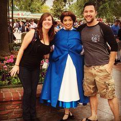 I got to meet Belle!  #disneyland #Belle #beautyandthebeast #blueiscuter by cuttlebugg