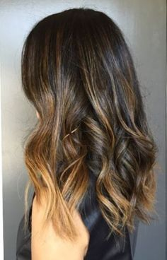 "Your search terms: ""beachy brunette"" or ""brunette highlights""–see pictures below for reference. Color by Neil George Salon colorist Johnny Ramirez. BALAYAGE HAIR COLOR…"