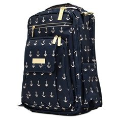Ju Ju Be Legacy Nautical Be Right Back The Admiral Backpack Diaper Bag - 14BP01LTAD