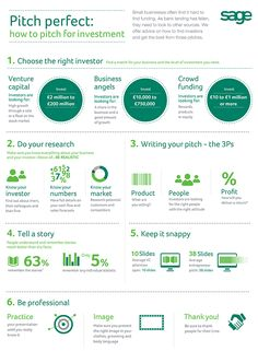 Business infographic & data visualisation How to Pitch for Investment – pitch perfect ! Infographic Description How to Pitch for Investment – pitch perfect ! Business Advice, Start Up Business, Business Planning, Online Business, Pitch Presentation, Presentation Skills, Business Presentation, Ms Project, Business Plan Template