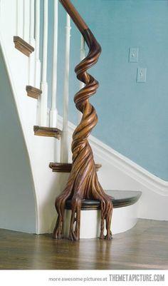 Beautiful Banister…