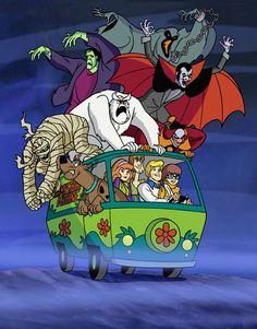 Scooby Doo one my fav. cartoons. Every night after school Scooby Doo before homework :-)