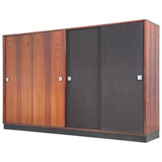 Large Wardrobe in Rosewood by Alfred Hendrickx 1